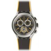 Swatch multicolor 2520 Swatch Bee-Droid Black & Yellow Dial Aluminum Rubber Men's Quartz Watch YYS4008 Watch - For Men