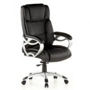 Hjh Silla de ejecutivo Triton 400 en piel color Negro