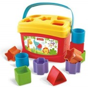 Fisher-Price Brilliant Basics Baby's First Blocks New Arrival Best Selling Premium Quality Lowest Price Colourful, Bright, Lightweight, Durable, Portable, Interactive Aid for Kids, Classic Motor & Spatial Skill Building Toy, Toddlers Learn & Play, Introdu
