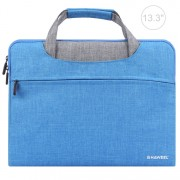 HAWEEL Multi-fumction Shockproof Oxford Sleeve Pouch for 13-inch Laptops/Tablets - Blue