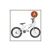 Bicicleta Mormaii Aro 20 Cross Energy Branca Com Aro Aero
