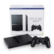 Sony Playstation 2 Black Console Slim