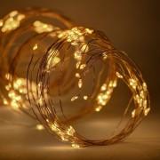 decoLED LED șirag luminos - 12x1.5 m, alb cald, 180 diode