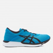 Asics Men's Running FuzeX Rush Trainers - Aqua Splash/Black/Diva Blue - UK 7 - Blue
