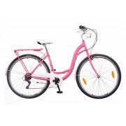 Neuzer Ravenna 6 Plus városi kerékpár Pink