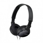 Sony Hörlurar Sony MDR ZX110 svart hårband