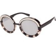 INVU Round Sunglasses(Silver)