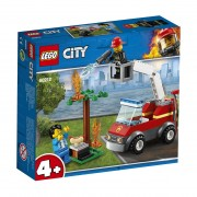 Lego City Fire (60212). Barbecue in fumo