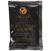 Organo Gold Gourmet Black Ganoderma Coffee (1 Box of 30 Sachets)