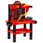 vidaXL Детска работилница с инструменти, 51 части, 57x32x68 см
