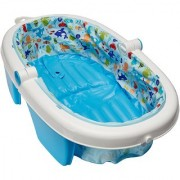 NEWBORN-TO-TODDLER FOLD AWAY BABY BATH -DUCK DIVER