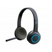 Fejhallgató, mikrofonnal, vezeték nélküli, LOGITECH H600 (LGFH600)