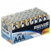 Алкални батерии MAXELL LR03 1,5V AAA 32 бр. pack, ML-BA-LR03-32PK
