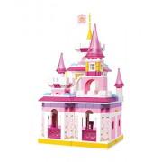 Sluban Building and Construction Blocks M38-B0251 Princess Magical Castle Building Block Construction Set (385 Piece)