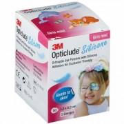 3M™ Opticlude™ Silicone Girl Mini 5,0 x 6,0 cm pc(s) pansement(s)