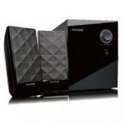 Тонколона Microlab M-300, 2.1, 40W, output-2RCA;input-3,5mm jack stereo, черна