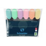 Set textmarkere Schneider Job Pastel, 6 buc/set
