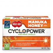 Manuka Health New Zealand Ltd MGO 400+ Manuka Honey with CycloPower - 30 Caps