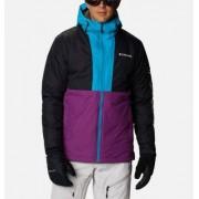 Columbia Veste de Ski Timberturner - Homme Plum, Noir, Fjord Blue S