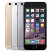 Apple iPhone 6 - Fabriksservad telefon - Silver, 16GB
