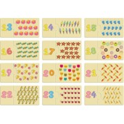 Joc educativ tip puzzle and ndash Invata sa numeri