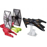 Hot Wheels Star Wars The Force Awakens Starship First Order Special Forces TIE Fighter Blast Attack