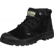 Palladium LOW CUF LEA Damen Schuhe schwarz