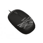 MOUSE LOGITECH M105 NEGRO OPTICO ALAMBRICO USB 1000 DPI PC/MAC/CHROME