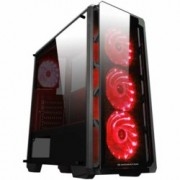 Кутия Xigmatek Astro EN40858, ATX / Mini ITX / Micro ATX, 1x USB 3.0 / 2x USB 2.0, черенa, без захранване