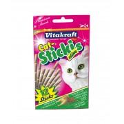 Vitakiraft Baton Pisica Slim cu Pui si Ficat, 12 buc