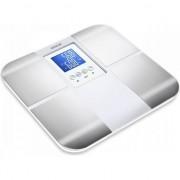 Cântar fitness de baie Sencor SBS 6015WH, 180 kg, 100 g, Alb/Argintiu