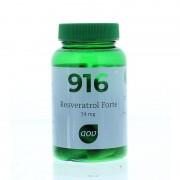 916 Resveratrol Forte 60 mg - 60 Capsules AOV
