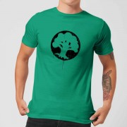 Magic The Gathering Green Mana Splatter Men's T-Shirt - Kelly Green - XXL - Kelly Green