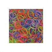 Elastice Rainbow Loom - Jelly Mix-600 buc