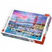 Trefl Puzzle Slagalica Golden Gate San Francisco 2000 kom (27097)