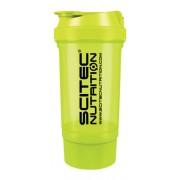 Shaker 500 ml Traveller átlátszó UV zöld Scitec Nutrition