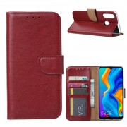 Bookcase Huawei P30 Lite hoesje - Bordeauxrood