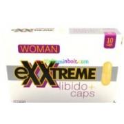Exxtreme Libido Woman 10 db kapszula, vágyfokozó nőknek