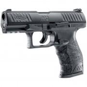 Pistol Umarex Pistol CO2 Airsoft WALTHER PPQ M2 T4E BLACK CAL 43 8BB 5J