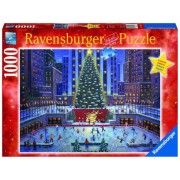 PUZZLE CRACIUN NYC, 1000 PIESE - RAVENSBURGER (RVSPA19563)