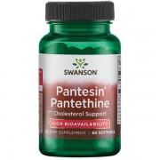 Swanson Pantesin Pantethine 300 mg 60 kapsułek