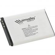simvalley MOBILE Reserve-Akku für Handys XL-947, 900 mAh