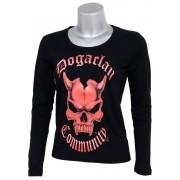 tricou stil metal femei Doga Clan