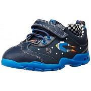 Clarks Boy's Brite Star Fst Navy Leather First Walking Shoes - 4.5 UK