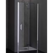 Porta box doccia a soffietto da 70 a 100 cm (PS35N)