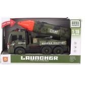Katonai autó rakétával