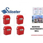 Sliceter Power Saver (4PCS) Enviropure Legal Safe Genuine SAVE or digital and powerful electricity saving device.