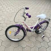 Bicicleta Best Laux Fete GY20 20 Inch cu Roti Ajutatoare, Portbagaj