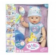 Baby Born - Bebelus Baiat Interactiv Cu Corp Moale