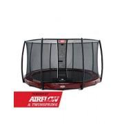 Studsmatta BERG InGround Elite Air Flow Red 330 + skyddsnät Deluxe